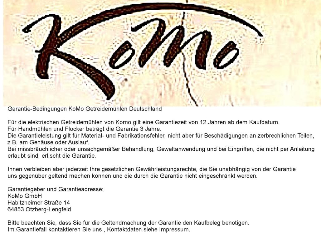 Komo Duett 200 Elektrische Getreide Mühle Und Flocker In Einem
