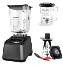Blendtec Designer 725 Farbe: Dunkelgraumetallic + Twister Jar + Mini Wildside Jar im Set